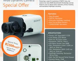 #8 para Design a Flyer for a Special Offer on Sony CCTV Camera Model FB-531 por dfvdiego