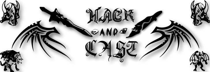 Inscrição nº 10 do Concurso para Design a Logo for Video Game: Hack and Cast