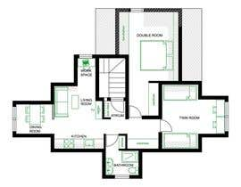 #42 для Design Apartment Plan от catherinedietsch