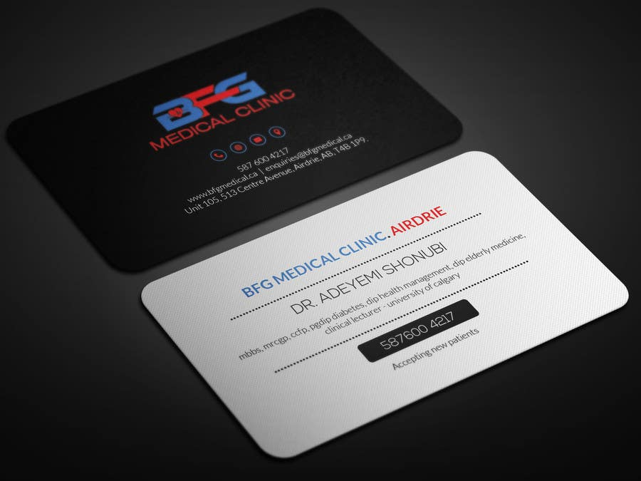Entry #16 by smartghart for MEDICAL CLINIC BUSINESS CARD & LETTER ...