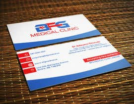 #22 for MEDICAL CLINIC BUSINESS CARD & LETTER HEAD by NayeemaSiddiqua