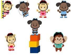 Nro 48 kilpailuun A mascot duo for a climbing playground käyttäjältä robertussidharta