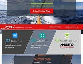 Nro 28 kilpailuun Design a Landing Page for an online Contest käyttäjältä stylishwork