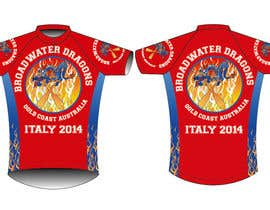 #34 for Redesign Dragon Boat uniforms - af triharyoko