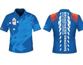 #72 para Redesign Dragon Boat uniforms - por IOdesigner