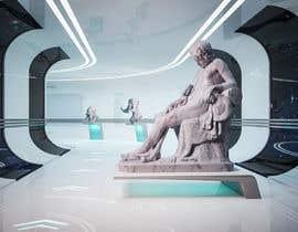 javierburguera tarafından Render statue in futuristic environment için no 35