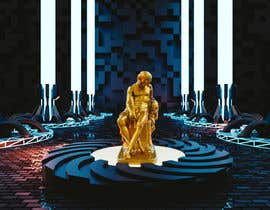 eldesoki tarafından Render statue in futuristic environment için no 59