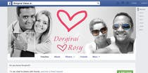 Contest Entry #22 for Design a Facebook Cover for a Couple with photos