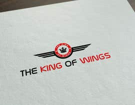 #37 for Logo Design (The King of Wings) by GlowingGraphic