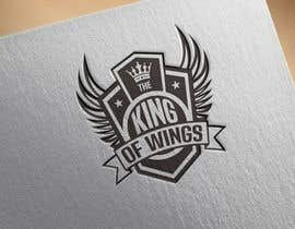 #32 for Logo Design (The King of Wings) by RedHotIceCold
