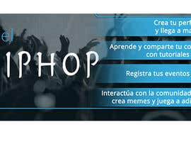 Nro 7 kilpailuun Diseñar una portada para Facebook, pagina de Hip Hop käyttäjältä oobqoo