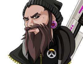 Nro 17 kilpailuun Illustrate my face as an Overwatch character käyttäjältä bulletirde