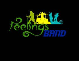 Nro 17 kilpailuun Logo - Feelings Band käyttäjältä wolverinesimon