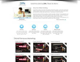 #28 for One page website design for franchise af dreamstudios0