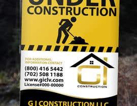 Nro 8 kilpailuun Design a Construction job site sign käyttäjältä TDuongVn