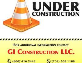 Nro 6 kilpailuun Design a Construction job site sign käyttäjältä matula1978