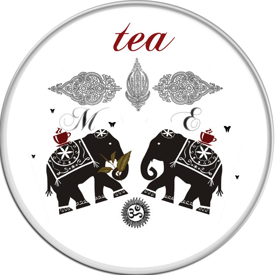 Konkurrenceindlæg #28 for Design a Logo to use on a tea label for a wedding gift