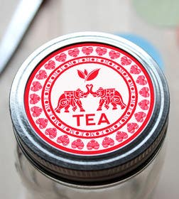 #42 for Design a Logo to use on a tea label for a wedding gift by andrewangel