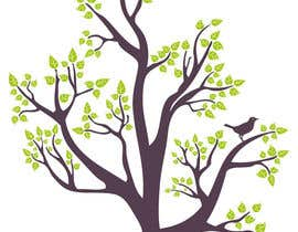 #41 untuk Wall decal design - Trees and Flowers oleh samazran