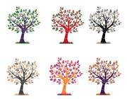 Graphic Design Inscrição do Concurso Nº32 para Wall decal design - Trees and Flowers