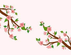 #42 untuk Wall decal design - Trees and Flowers oleh Simo23