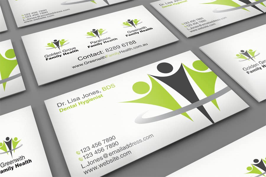 Penyertaan Peraduan #29 untuk Medical Practice Business Card Design