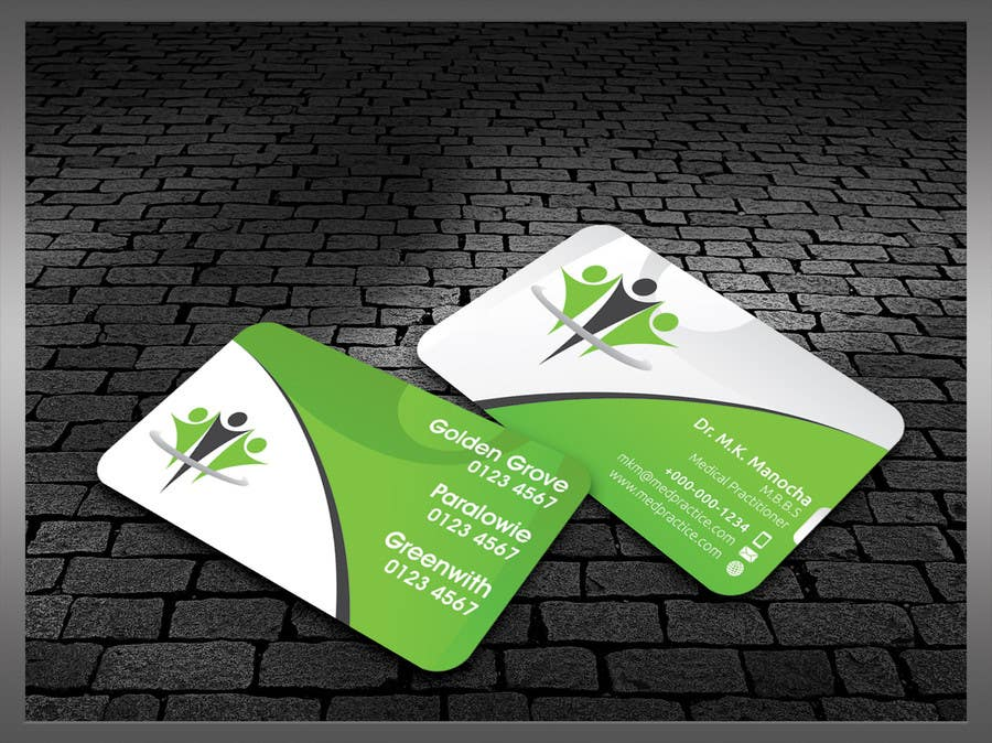 #37 for Medical Practice Business Card Design by kreativedhir