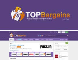 #19 para Design a Logo for TopBargains por alexandracol