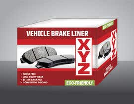 jeanvillegas75 tarafından Designing packaging box for brake liners için no 2