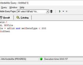 pablopistarelli tarafından Show me how to create a Pervasive SQL query için no 3
