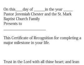 maaaza tarafından Graduation Certificate için no 2
