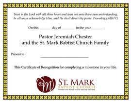 Nro 19 kilpailuun Graduation Certificate käyttäjältä janetcobb