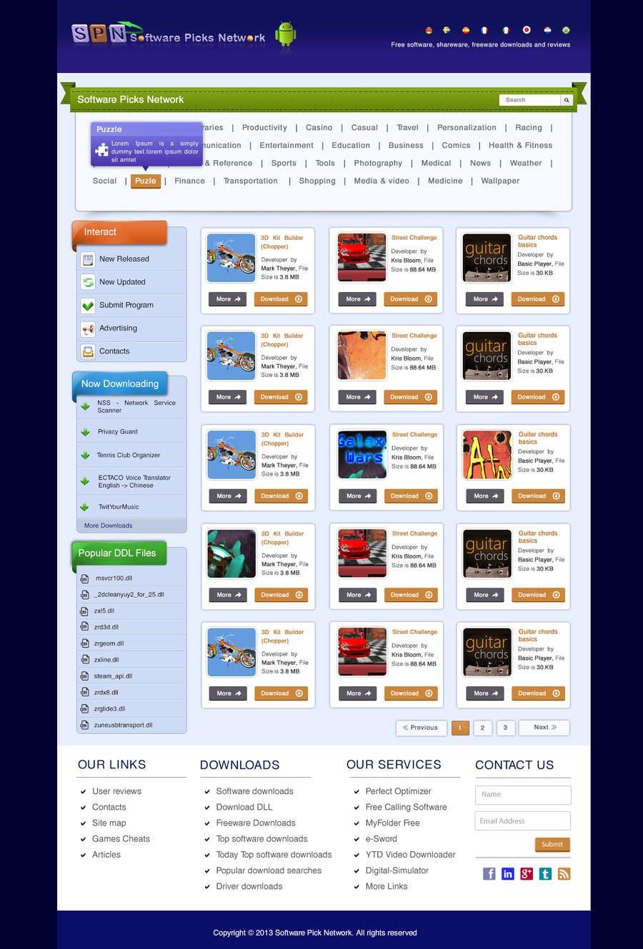 Bài tham dự cuộc thi #                                        14                                      cho                                         Enhancement of current website template