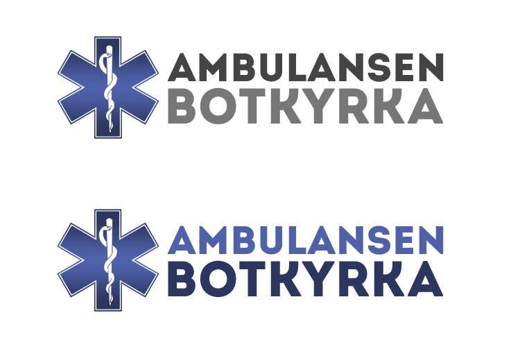 "Proposition n°43 du concours Designa en t-shirt for ""Ambulansen Botkyrka"""