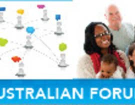 #49 para Design a 2 x Banners/logos - 1 for www.forumsau.com - image size 560w x 85h - 1 for www.newsau.com 880w x180h por blackd51th
