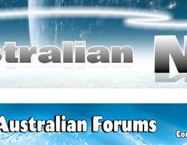 #39 for Design a 2 x Banners/logos - 1 for www.forumsau.com - image size 560w x 85h - 1 for www.newsau.com 880w x180h by MCSChris