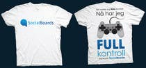 Graphic Design Entri Peraduan #21 for T-shirt Design for SocialBoards