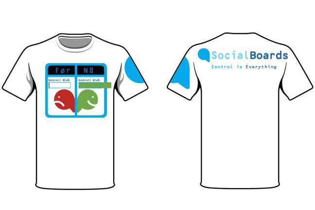 Penyertaan Peraduan #                                        27                                      untuk                                         T-shirt Design for SocialBoards
