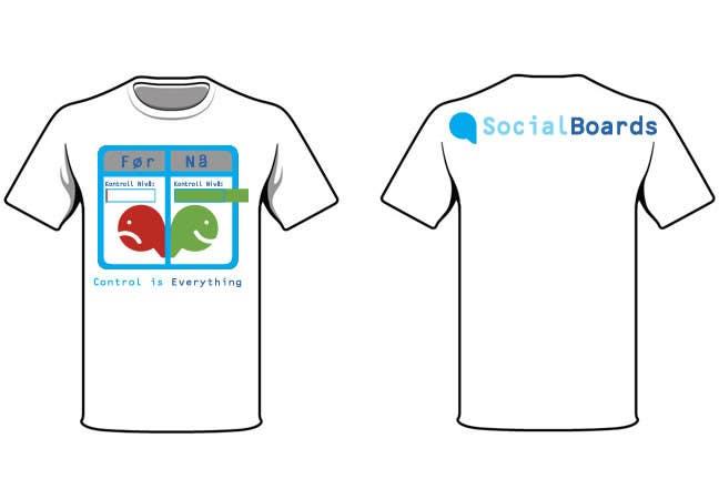 Penyertaan Peraduan #                                        25                                      untuk                                         T-shirt Design for SocialBoards
