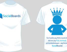 nº 32 pour T-shirt Design for SocialBoards par Cornerstone505