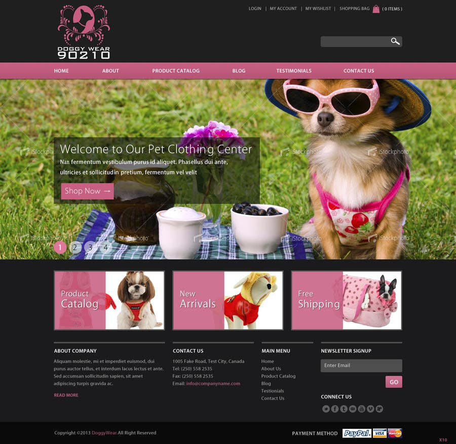 Proposition n°18 du concours Design a Website Mockup for 'My safe video' - home page