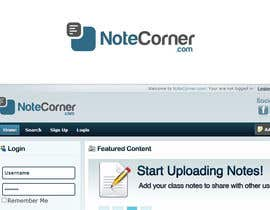 #17 for Design a Logo for NoteCorner.com by commharm