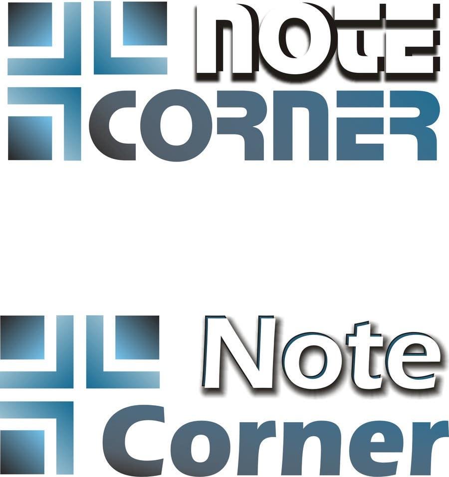 Proposition n°                                        5                                      du concours                                         Design a Logo for NoteCorner.com