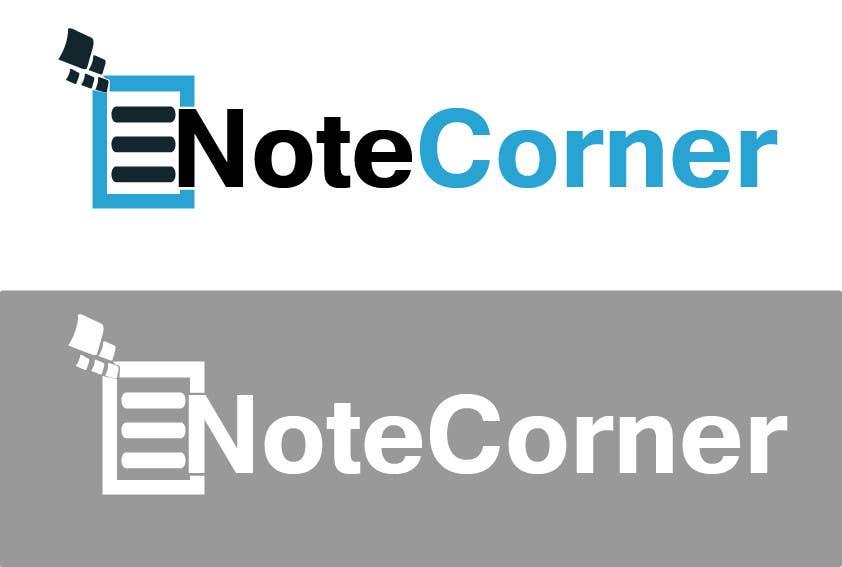 Proposition n°                                        25                                      du concours                                         Design a Logo for NoteCorner.com