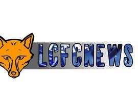 Nro 39 kilpailuun Design a Leicester FC News Logo käyttäjältä mabon96