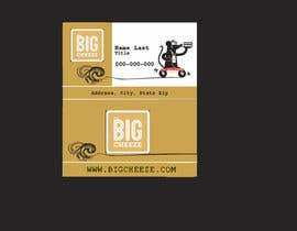 #12 for Design some Business Cards for the Big Cheeze food truck af dhartmann
