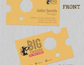 #10 for Design some Business Cards for the Big Cheeze food truck af keithhollis1983