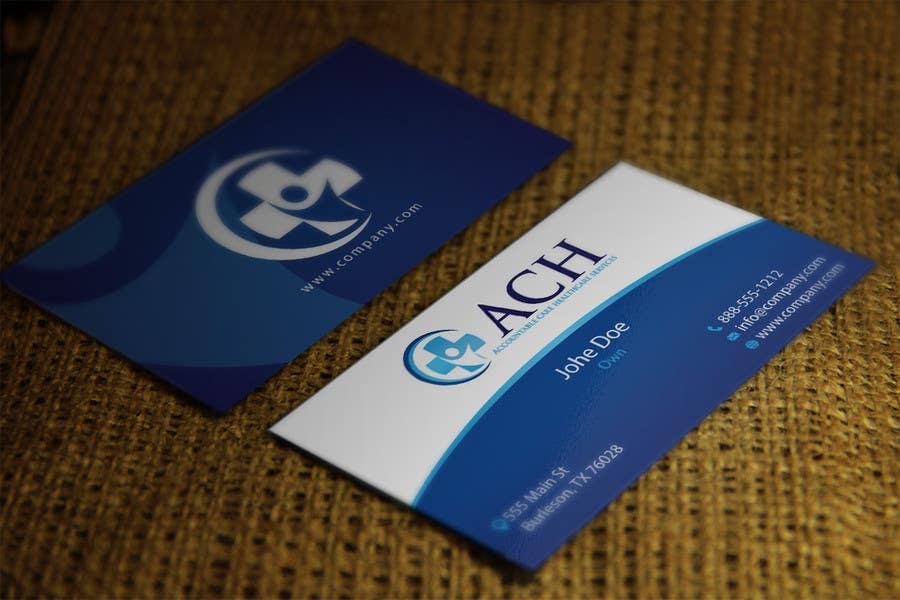 Inscrição nº 13 do Concurso para Design some Business Cards for ACH