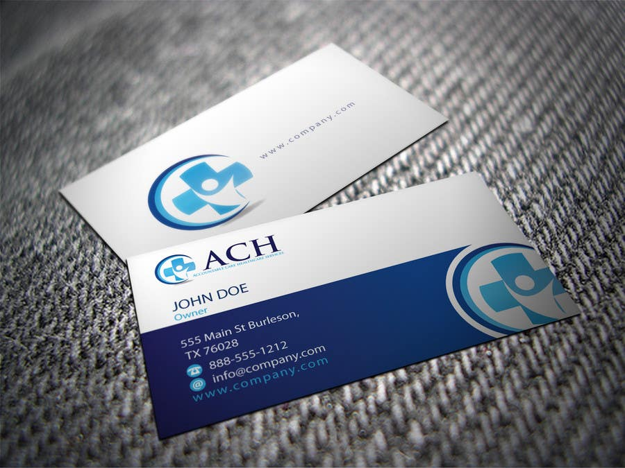 Proposition n°9 du concours Design some Business Cards for ACH