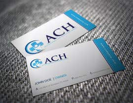 #23 untuk Design some Business Cards for ACH oleh shyRosely